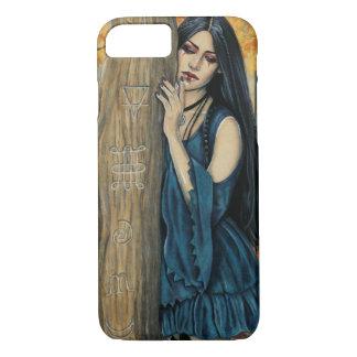 Capa de telefone gótico da arte da fantasia da