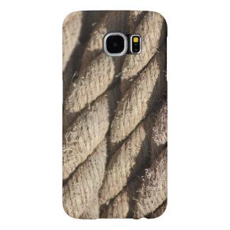 Capa Para Samsung Galaxy S6 Capa de telefone grossa da foto da corda