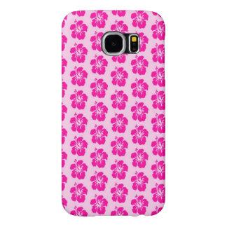 Capa de telefone havaiana cor-de-rosa da galáxia