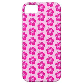 Capa de telefone havaiana cor-de-rosa do iPhone