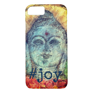 Capa de telefone #Joy da arte da aguarela de