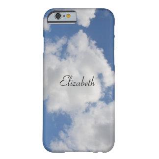 Capa de telefone lunática personalizada da nuvem