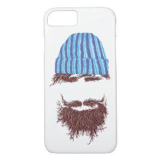Capa de telefone lustrosa da barba anca