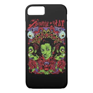 Capa de telefone lustrosa da estrela do zombi