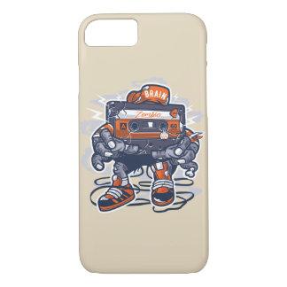 Capa de telefone lustrosa da gaveta do zombi