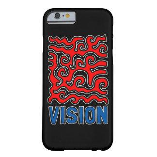 """Capa de telefone lustrosa da """"visão"""""""