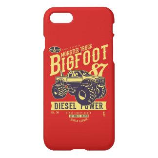 Capa de telefone lustrosa de Bigfoot