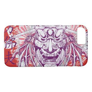 Capa de telefone lustrosa do código do samurai