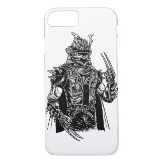 Capa de telefone lustrosa do punk do samurai