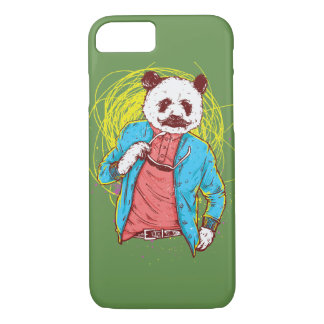 Capa de telefone lustrosa do urso de panda
