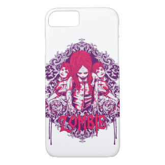 Capa de telefone lustrosa do zombi