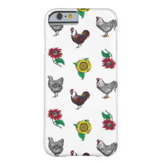 Capa de telefone macia das galinhas e dos