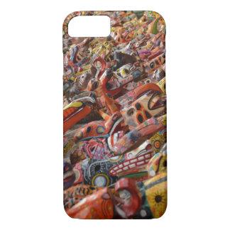 Capa de telefone maia colorida das máscaras
