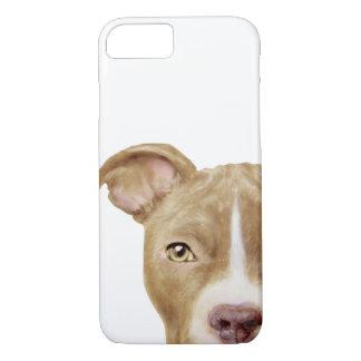 capa de telefone marrom do pitbull