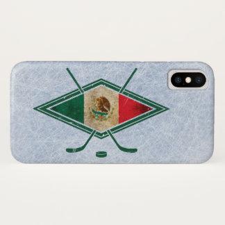 Capa de telefone mexicana da bandeira do hóquei em