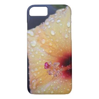 Capa de telefone molhada do hibiscus