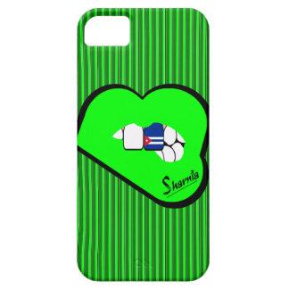 Capa de telefone móvel de Cuba dos lábios de