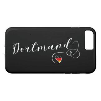 Capa de telefone móvel de Dortmund do coração,