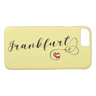 Capa de telefone móvel de Francoforte do coração,