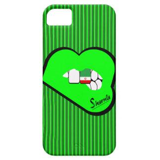 Capa de telefone móvel de Irã dos lábios de