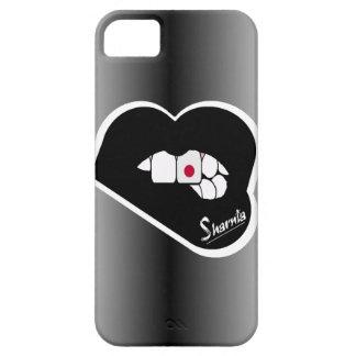 Capa de telefone móvel de Japão dos lábios de