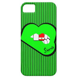 Capa de telefone móvel de Líbano dos lábios de