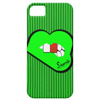 Capa de telefone móvel de Marrocos dos lábios de