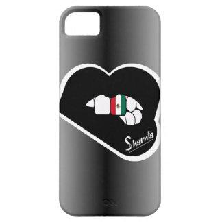Capa de telefone móvel de México dos lábios de