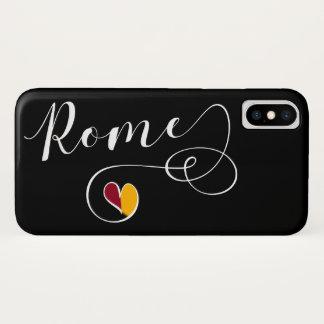 Capa de telefone móvel de Roma do coração, Italia