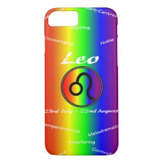 Capa de telefone móvel de Sharnia Leo (arco-íris)