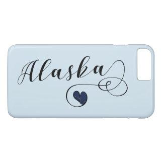 Capa de telefone móvel do coração de Alaska, do
