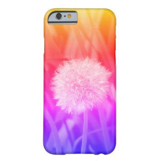 capa de telefone multicolorido do dente-de-leão