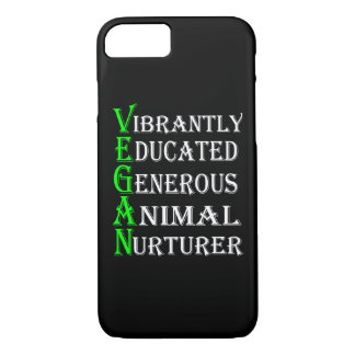 Capa de telefone para amantes dos animais, Vegan