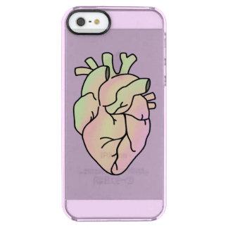 Capa de telefone Pastel do coração