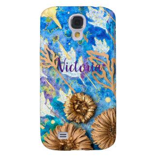 Capa de telefone personalizada com flor do