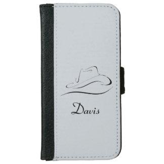 Capa de telefone personalizada da carteira com