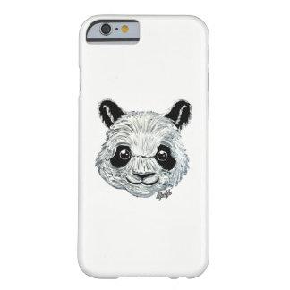 Capa de telefone pintado mão da arte da panda do