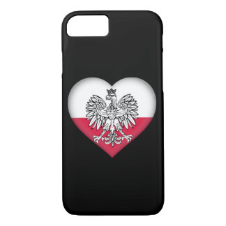 Capa de telefone polonesa do amor