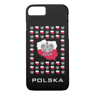 Capa de telefone polonesa do teste padrão
