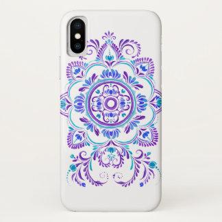 capa de telefone popular azul roxa do design da