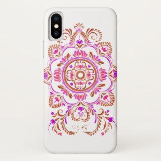 capa de telefone popular do design da flor da
