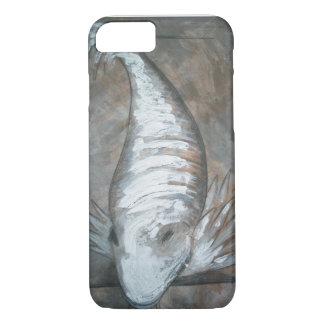 Capa de telefone portátil com peixe
