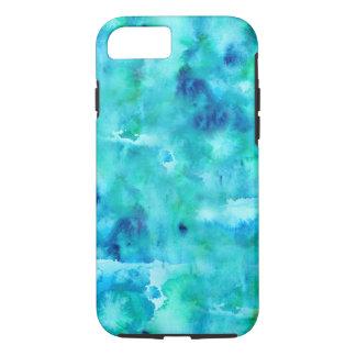 Capa de telefone portátil em cores de oceano