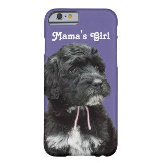 Capa de telefone portuguesa do dia das mães do cão