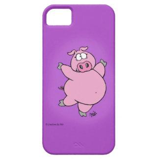 Capa de telefone Prancing do porco