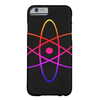 Capa de telefone preta atômica