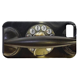 """Capa de telefone preta do vintage "" Capas Para iPhone 5"
