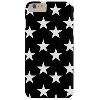 Capa de telefone preto e branco do impressão da capas iPhone 6 plus barely there