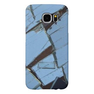 Capa Para Samsung Galaxy S6 Capa de telefone quebrada da foto do espelho