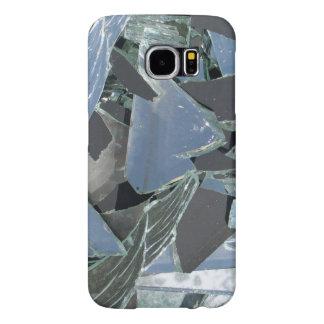 Capa Para Samsung Galaxy S6 Capa de telefone quebrada do espelho